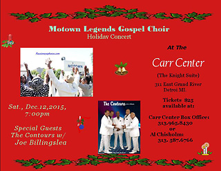 Holiday Concert Flyer